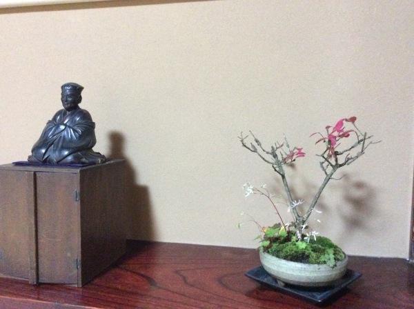 「芭蕉の館」と盆栽_f0289632_23374842.jpg