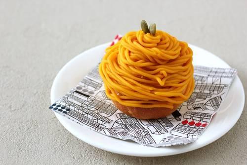 かぼちゃのモンブランパン_a0165538_08195876.jpg