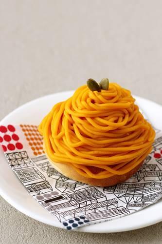 かぼちゃのモンブランパン_a0165538_08254913.jpg