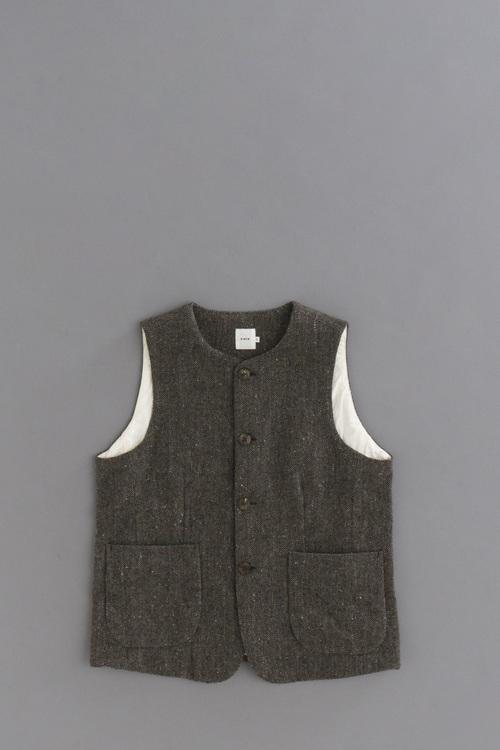 RINEN 1/6 Tweed Herringbone Vest_d0120442_1352513.jpg