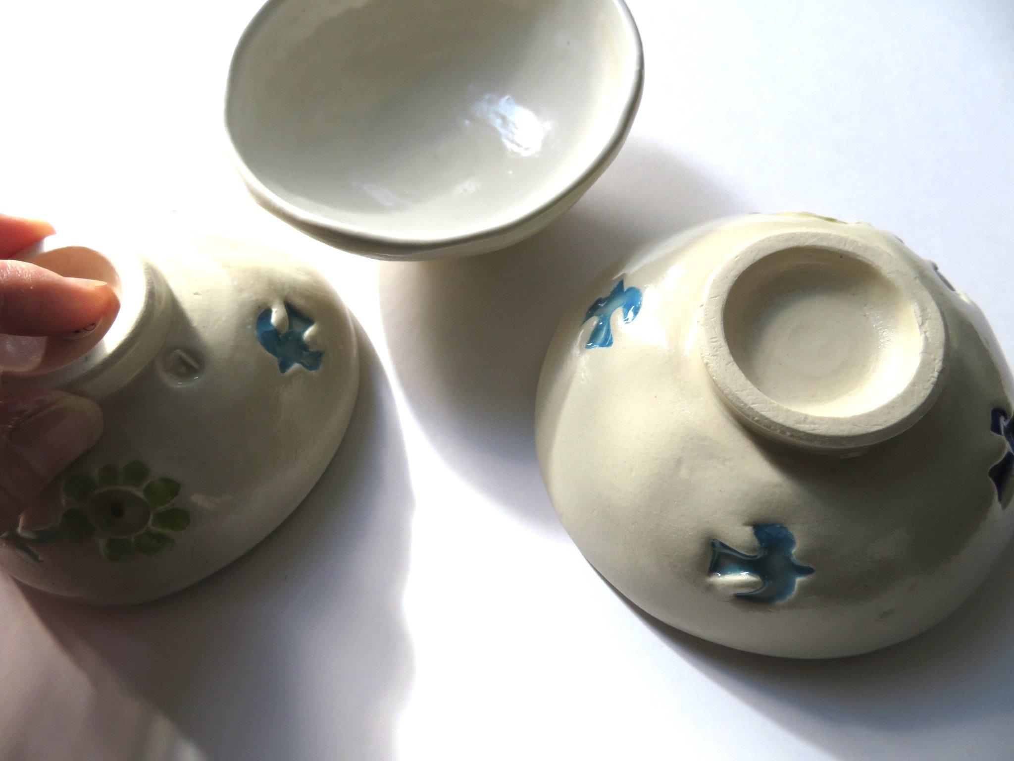 京都アートみやげてん速報5*福田友子さんの陶器、ブローチ_f0129557_16100345.jpeg