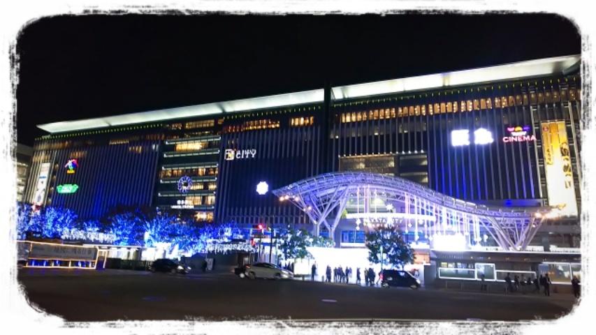 博多駅のイルミネーション  _f0043559_12090247.jpg