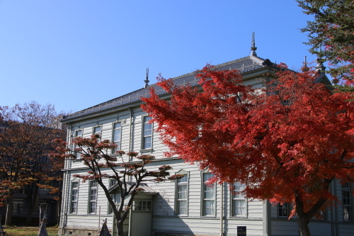 重文本館前庭・後庭の紅葉_c0075701_19222127.jpg