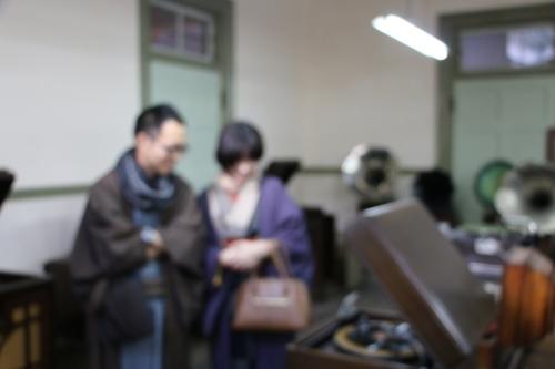 深谷市の和服姿の小水ご夫妻が重文本館をご見学_c0075701_22194447.jpg