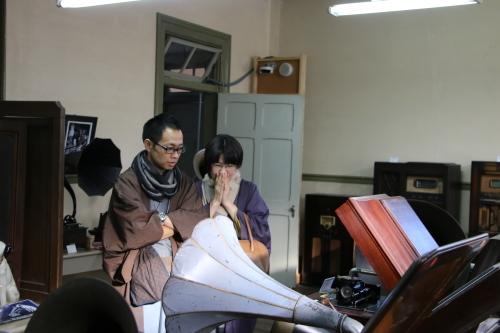 深谷市の和服姿の小水ご夫妻が重文本館をご見学_c0075701_22195805.jpg