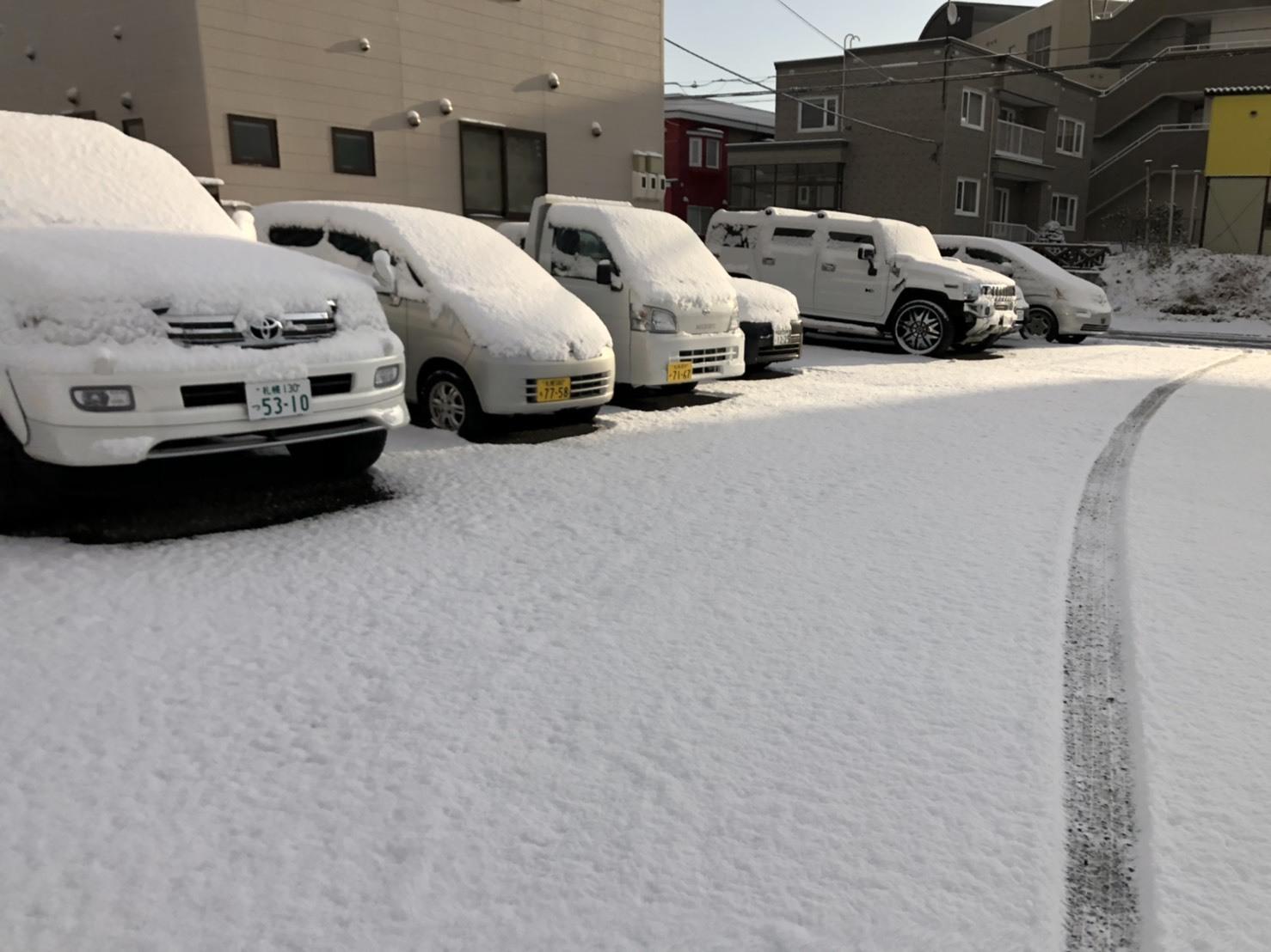 11月15日(金)アウディA6 T様納車✨ 除雪車あります✊ランクル エスカレード ヴェルファイア ♡TOMMY♡_b0127002_19381410.jpg