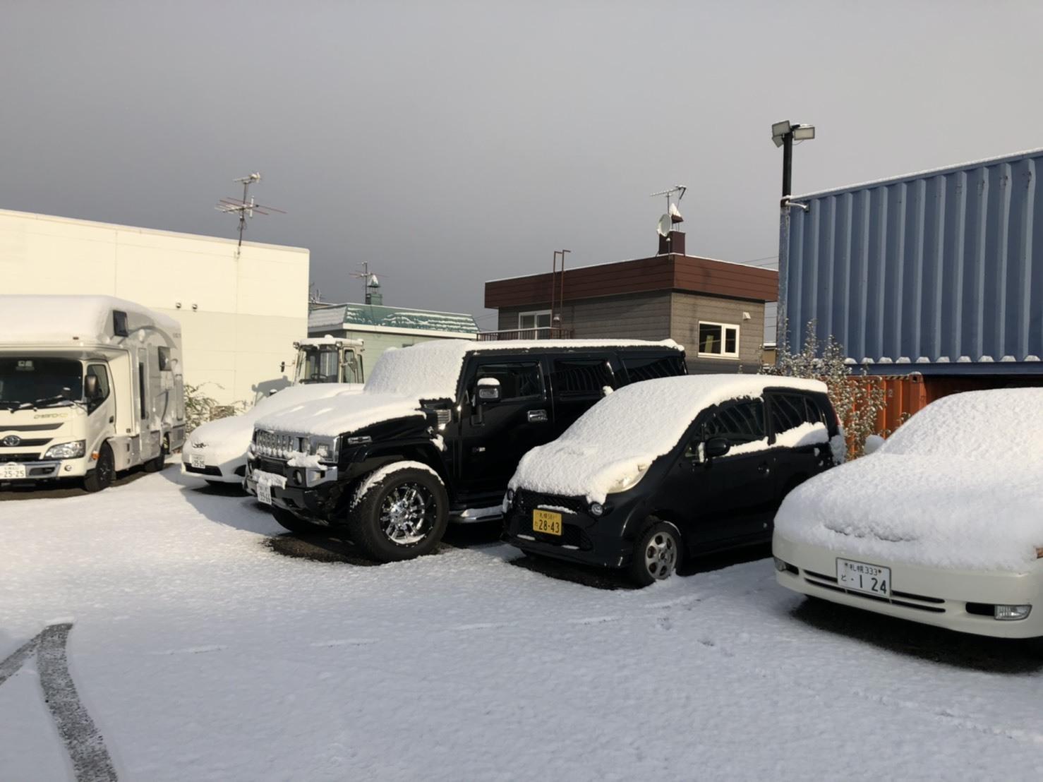 11月15日(金)アウディA6 T様納車✨ 除雪車あります✊ランクル エスカレード ヴェルファイア ♡TOMMY♡_b0127002_19381442.jpg
