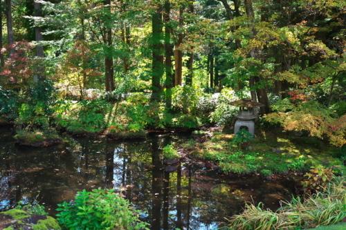 日光 田母沢御用邸記念公園の庭園1_a0263109_15383846.jpg