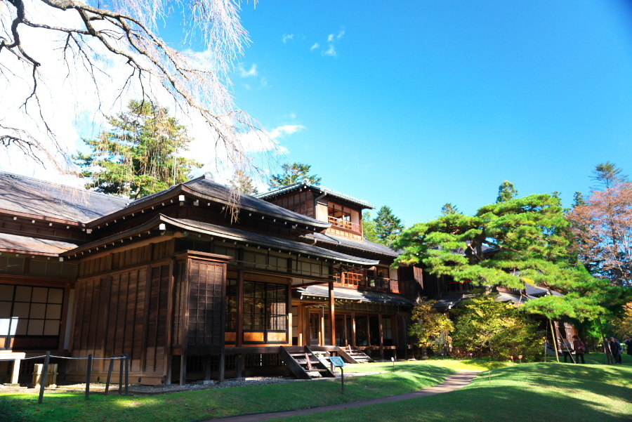 日光 田母沢御用邸記念公園の庭園1_a0263109_15391021.jpg