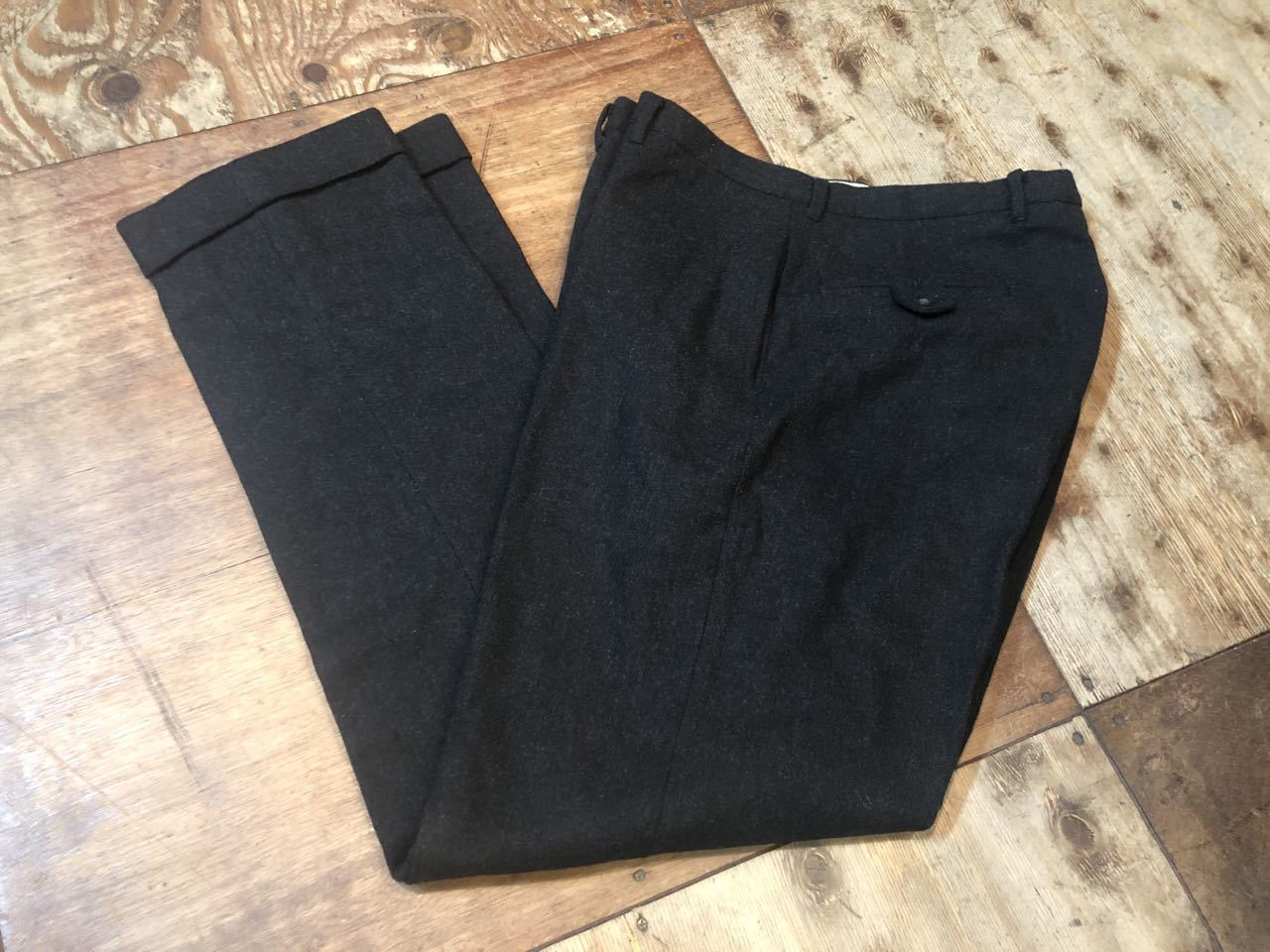 11月16日(土)入荷!60s TAKE IVY !! Elderado UNION MADE WOOL テーパード IVY SLACKS  !_c0144020_13352919.jpg