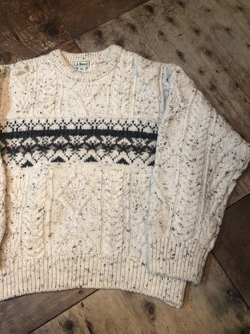 11月16日(土)入荷!MADE IN IRELAND L.L Bean all wool sweater!!_c0144020_13574030.jpg