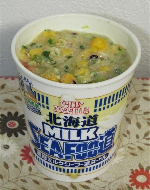 カップヌードル 濃厚ミルクシーフー道ヌードル2019~牛乳考_b0081121_06292370.jpg