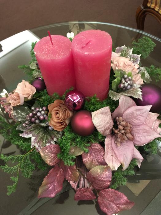 クリスマス作品展〜長浜北ビワコホテルロビーで_f0155431_22560220.jpg