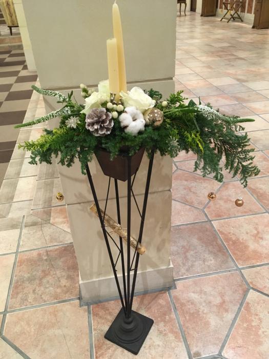 クリスマス作品展〜長浜北ビワコホテルロビーで_f0155431_23014903.jpg