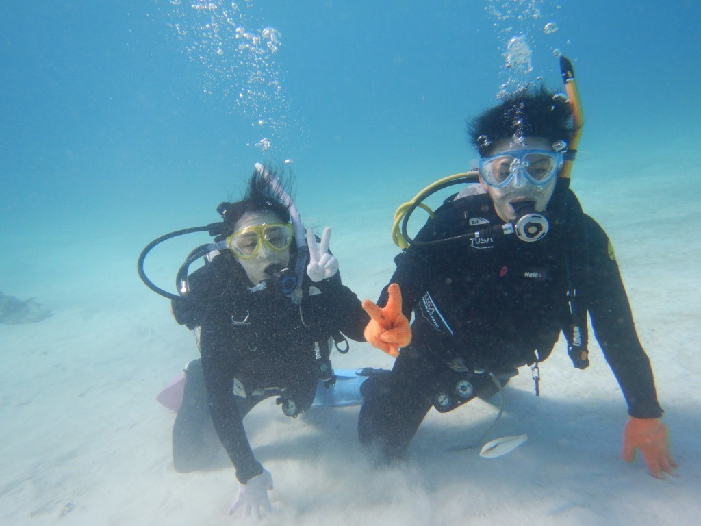 最高にキレイな海で体験ダイビング☆_a0189838_13480905.jpg