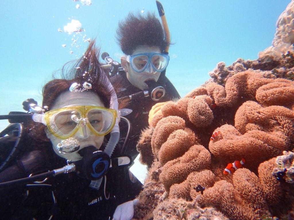 最高にキレイな海で体験ダイビング☆_a0189838_13513013.jpg