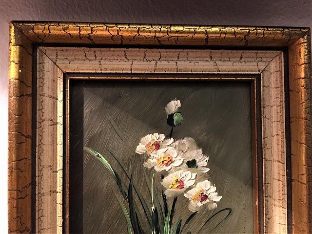 オリジナル油絵「バラ」2枚セット_f0112550_06343220.jpg
