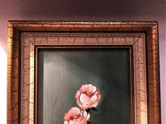 オリジナル油絵「バラ」2枚セット_f0112550_06381656.jpg
