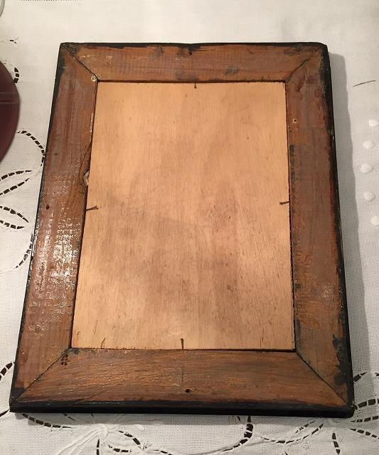 リトグラフ「バレリーナ」入り木製黒額957_f0112550_06460919.jpg