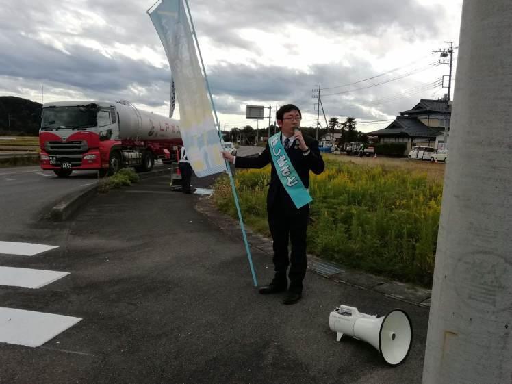 選挙戦5日目…黒羽、野崎_b0063162_00040841.jpg