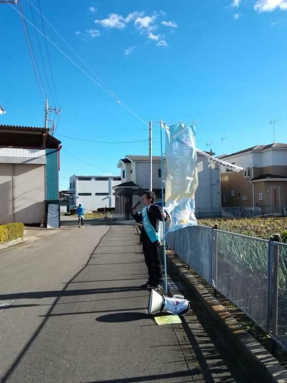 選挙戦5日目…黒羽、野崎_b0063162_00051363.jpg