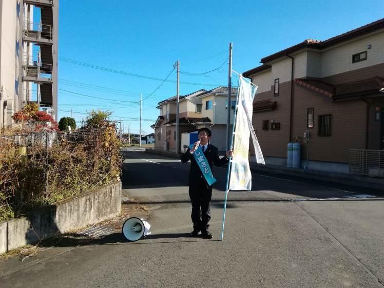 選挙戦5日目…黒羽、野崎_b0063162_00060216.jpg
