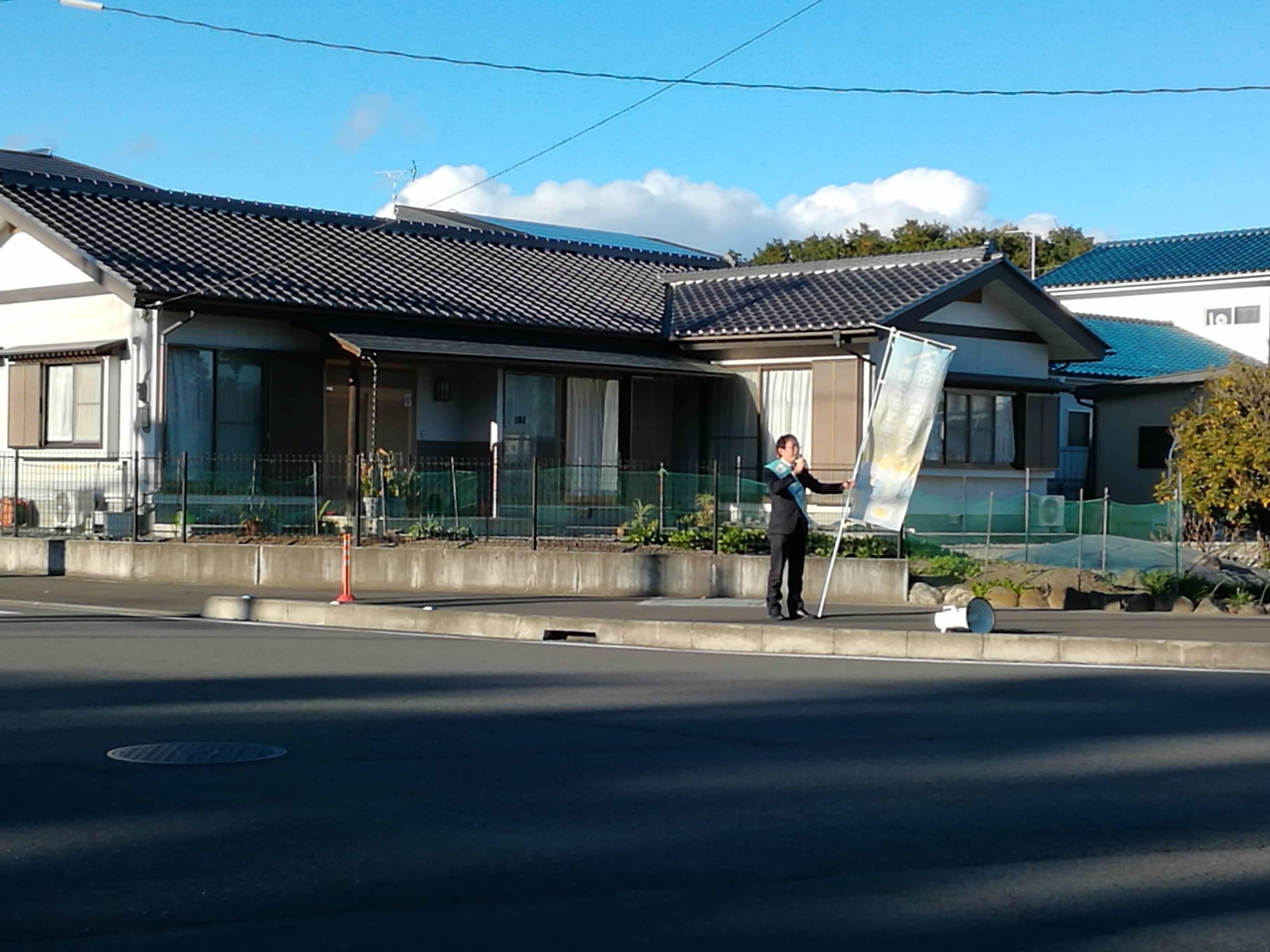 選挙戦5日目…黒羽、野崎_b0063162_00091186.jpg