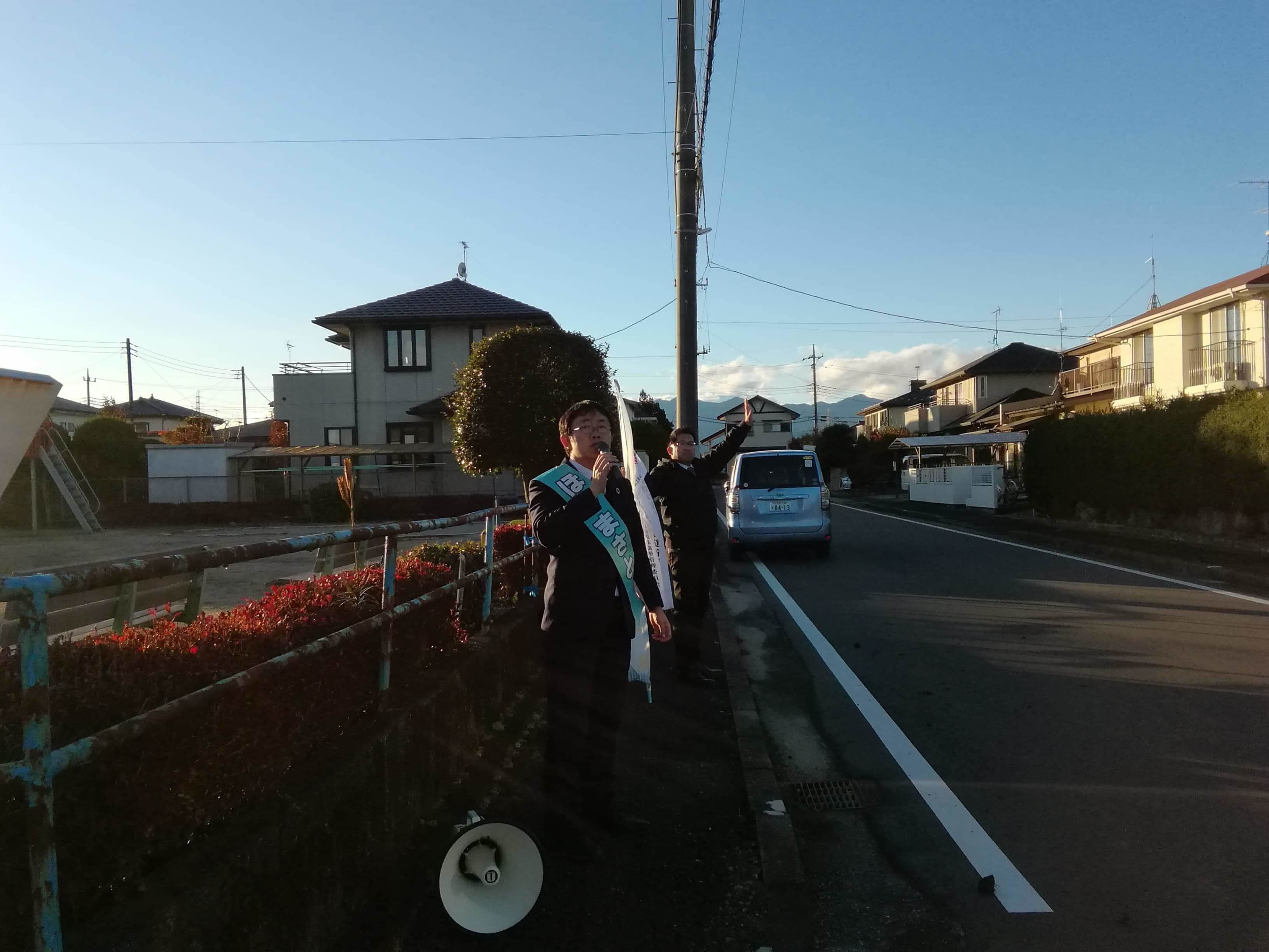選挙戦5日目…黒羽、野崎_b0063162_00102509.jpg