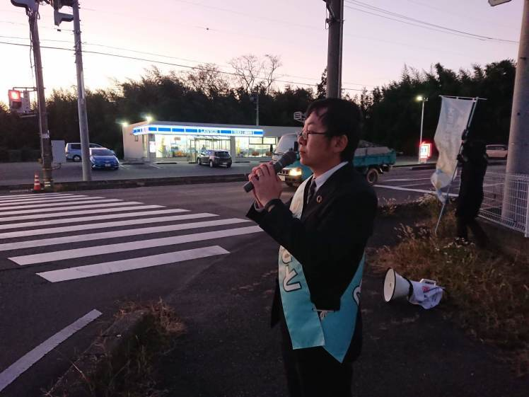 選挙戦5日目…黒羽、野崎_b0063162_00135094.jpg