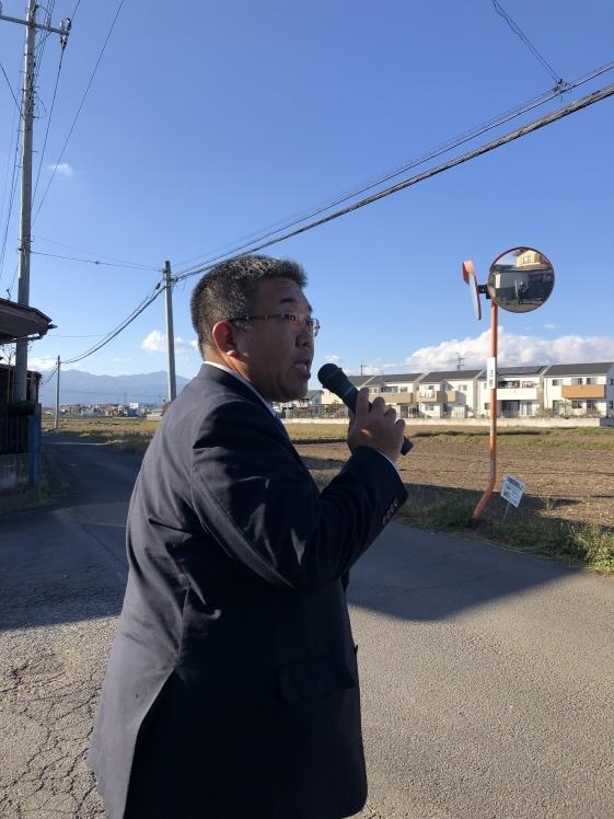 選挙戦6日目…大田原市街地_b0063162_23443826.jpg