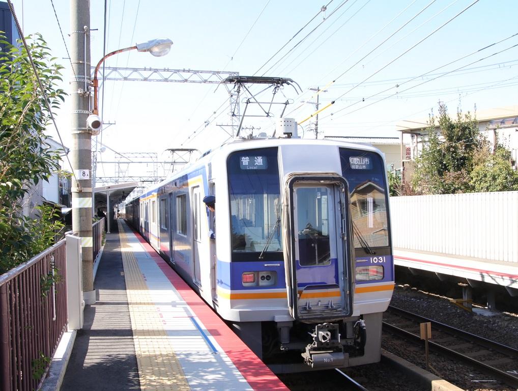 南海1000系 蛸地蔵駅_d0202264_2011194.jpg