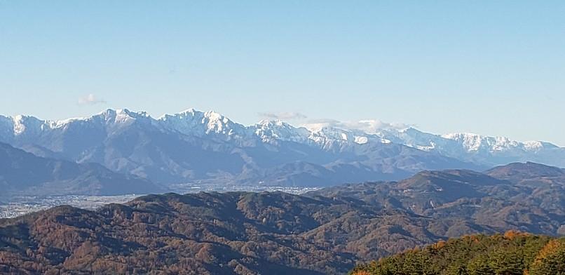 長峰山山頂、川端康成、東山魁夷、井上靖も見た風景_b0222066_15110505.jpg