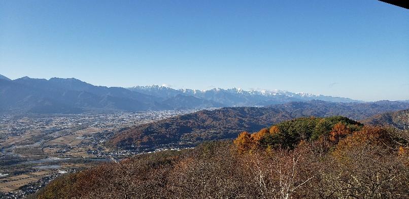 長峰山山頂、川端康成、東山魁夷、井上靖も見た風景_b0222066_15110598.jpg