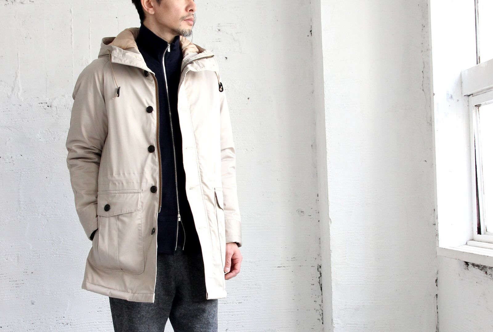 Thin Down Winter Mods Coat_c0379477_20255532.jpeg