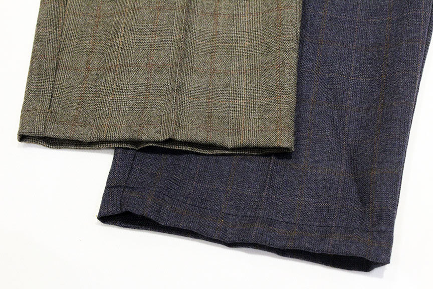 "COMFORTABLE REASON (コンフォータブルリーズン) "" Wool Glen Check Slacks \""_b0122806_12395531.jpg"