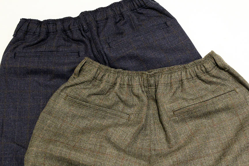 "COMFORTABLE REASON (コンフォータブルリーズン) "" Wool Glen Check Slacks \""_b0122806_12400354.jpg"