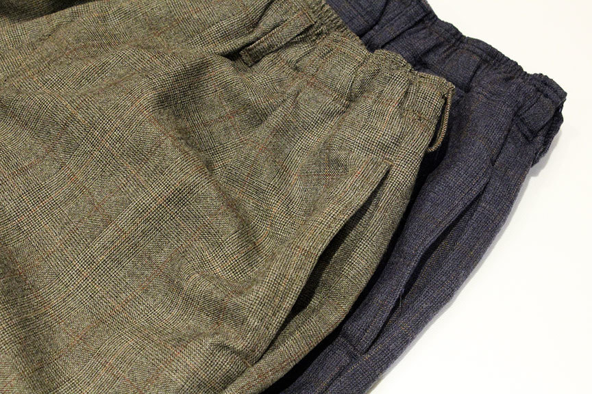 "COMFORTABLE REASON (コンフォータブルリーズン) "" Wool Glen Check Slacks \""_b0122806_12401351.jpg"