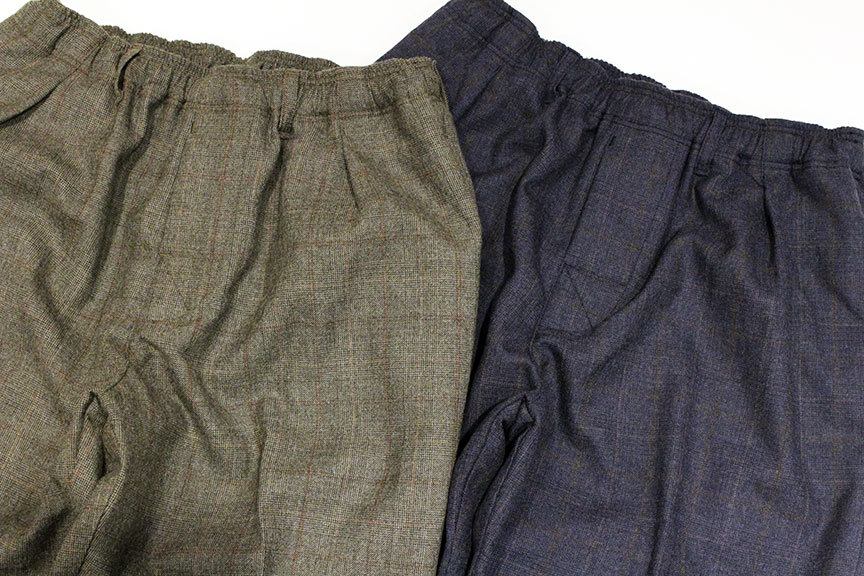 "COMFORTABLE REASON (コンフォータブルリーズン) "" Wool Glen Check Slacks \""_b0122806_12401456.jpg"