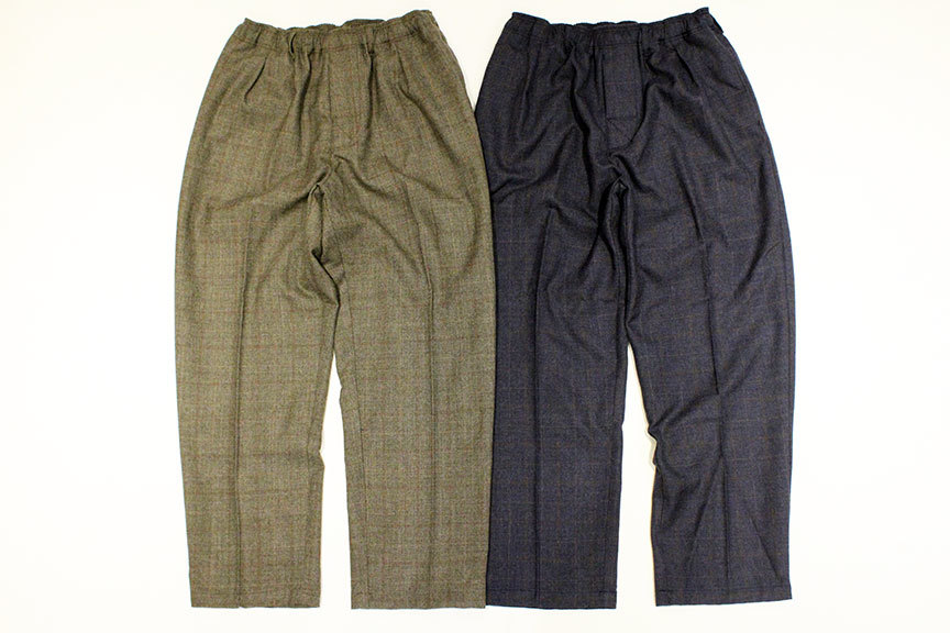 "COMFORTABLE REASON (コンフォータブルリーズン) "" Wool Glen Check Slacks \""_b0122806_12401847.jpg"