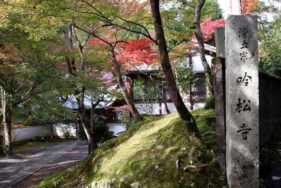 紅葉が始まった 千束の吟松寺_e0048413_20204732.jpg