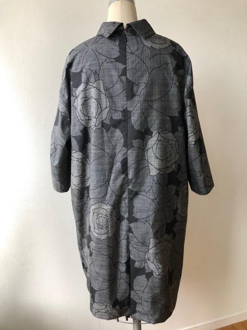 着物着物リメイク・ 大島紬からシンプルワンピース_d0127925_14452942.jpg