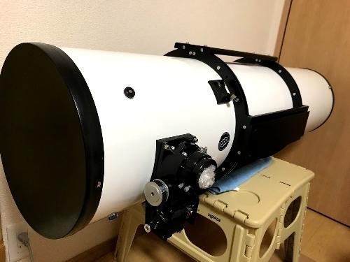 オライオンVX鏡筒 カーボン化改造_c0061727_09283980.jpg