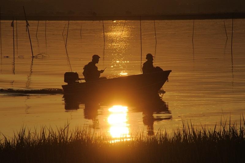 湖畔の夕_b0230131_17290690.jpg