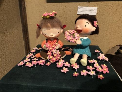 神戸酒心館 母娘コラボ展 「あのころはね 」_f0395434_22524839.jpeg