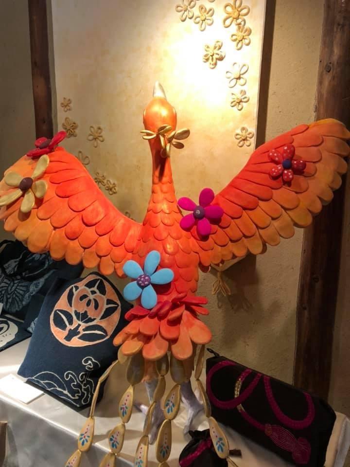 神戸酒心館 母娘コラボ展 「あのころはね 」_f0395434_22561546.jpg