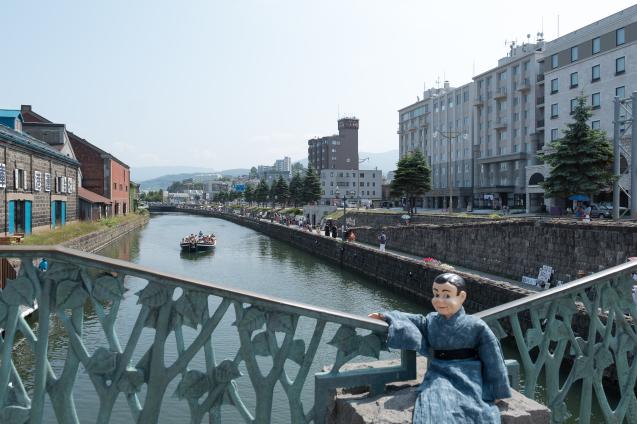 夏の思い出 ⑤ 小樽運河と小樽ビール_e0369736_12035457.jpg