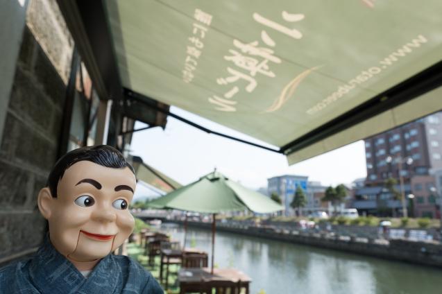 夏の思い出 ⑤ 小樽運河と小樽ビール_e0369736_12042150.jpg