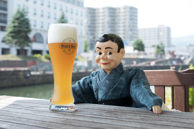 夏の思い出 ⑤ 小樽運河と小樽ビール_e0369736_12042426.jpg