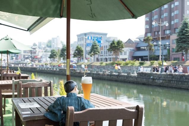 夏の思い出 ⑤ 小樽運河と小樽ビール_e0369736_12042526.jpg