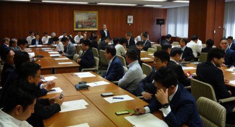 10月15日(火) 医療・福祉議員連盟懇談会を開催_d0225737_18280711.jpg
